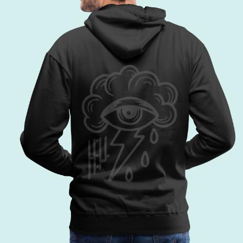 HELL apparel | SAD CLOUD | 2020 - Männer Premium Hoodie