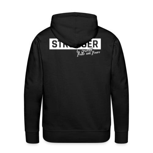 STRONGER - white - Männer Premium Hoodie
