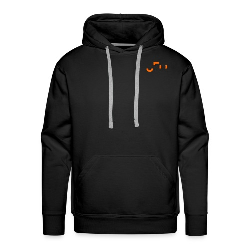 UFO Small Pocket Logo - Front and Back - Männer Premium Hoodie
