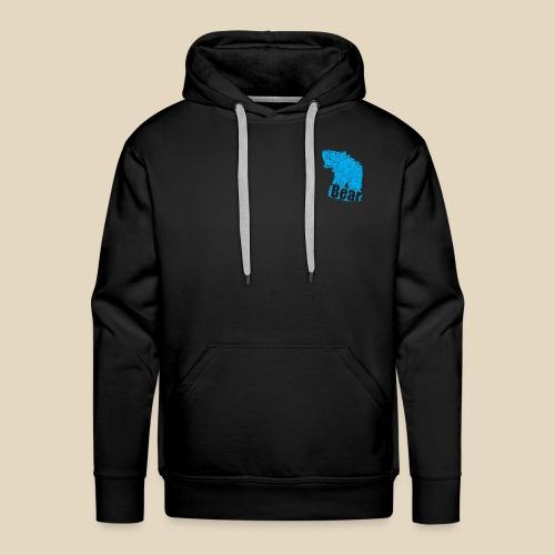 Blue Bear - Sweat-shirt à capuche Premium pour hommes