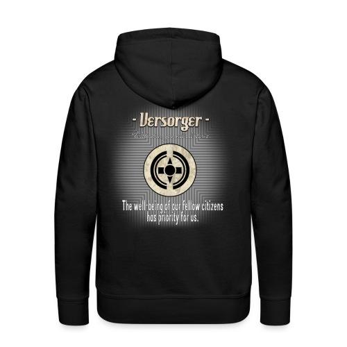 Versorger The well being has priority - Männer Premium Hoodie
