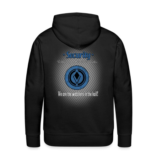 Security Without us you will kill each other - Männer Premium Hoodie
