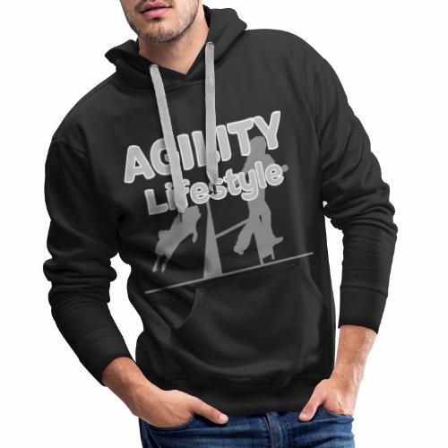 Agility Dogagility Hundesport Hundetraining - Männer Premium Hoodie