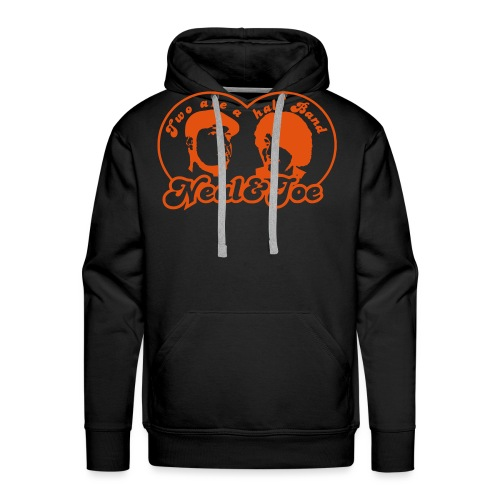 two are a half band - Männer Premium Hoodie