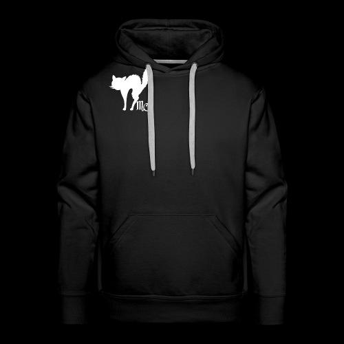 MidnightCat logo - Premiumluvtröja herr
