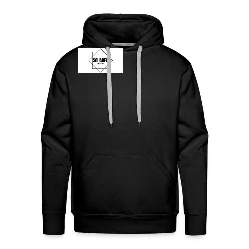squared - Mannen Premium hoodie