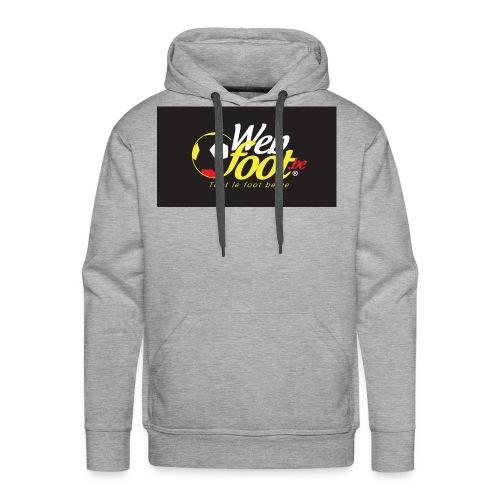 webfoot.be - Sweat-shirt à capuche Premium pour hommes