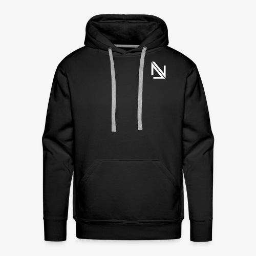 Deep Nation Records Elite Street Wear B&W - Men's Premium Hoodie