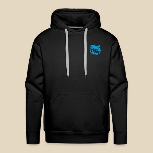 Blue Tiger - Sweat-shirt à capuche Premium pour hommes