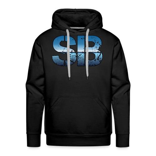 SB Logo - Herre Premium hættetrøje