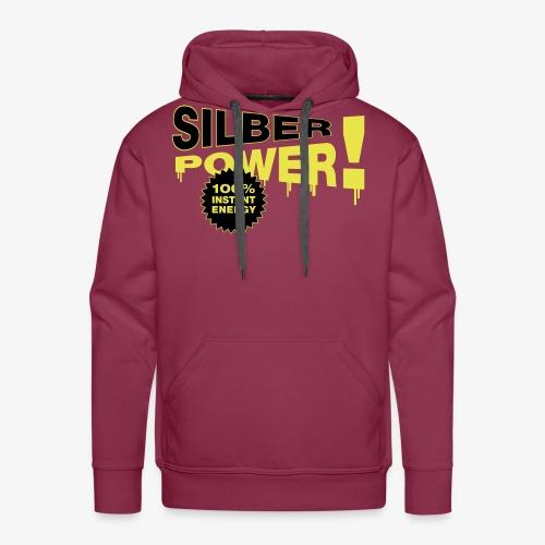 SilberPower! - Herre Premium hættetrøje