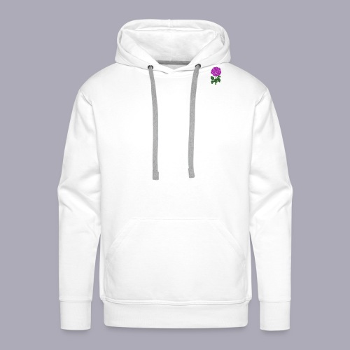 Landryn Design - Pink rose - Men's Premium Hoodie