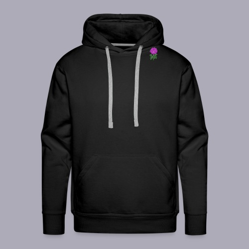 Landryn Design - Pink rose - Men's Premium Hoodie