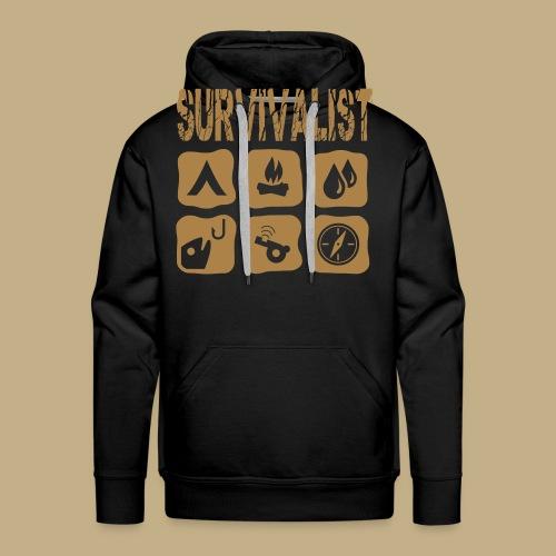 Survivalist - Männer Premium Hoodie