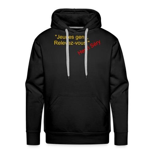 Pistols Clairon recto - Sweat-shirt à capuche Premium pour hommes