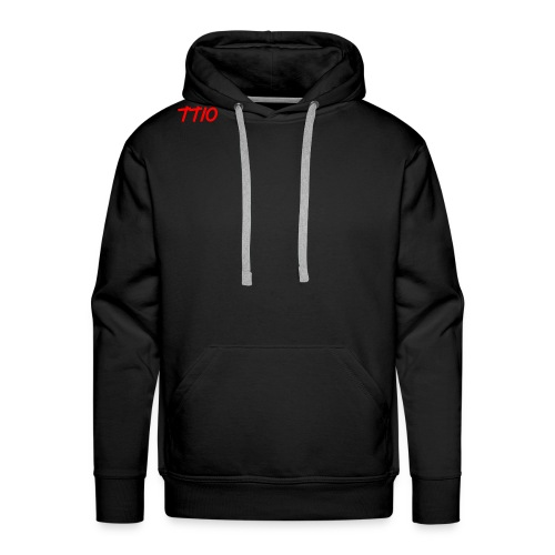 TroubledTV spike logo - Men's Premium Hoodie