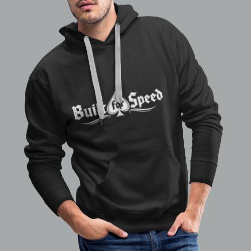 BFS WHITE - Men's Premium Hoodie