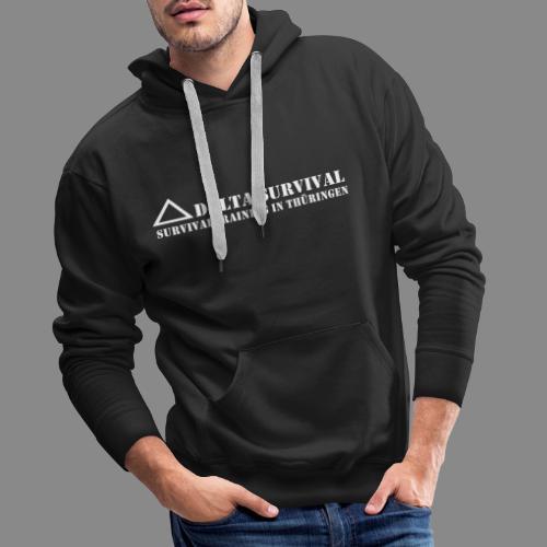 logo2015 weiß - Männer Premium Hoodie