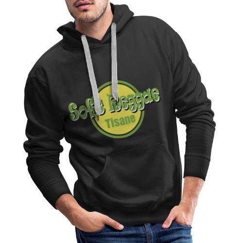 soft reggae tisane - Sweat-shirt à capuche Premium pour hommes