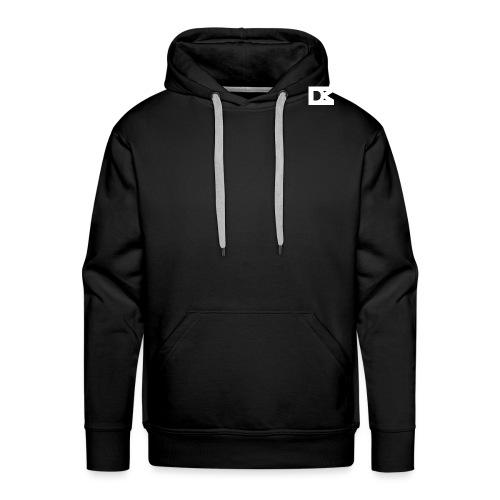 DMBart White Logo - Mannen Premium hoodie