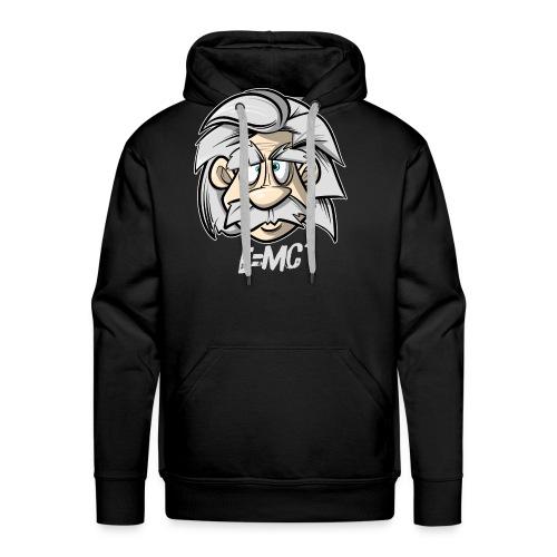 Albert Einstein E=MC2 - Männer Premium Hoodie