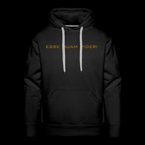Esse Quam Videri - bronze - Men's Premium Hoodie