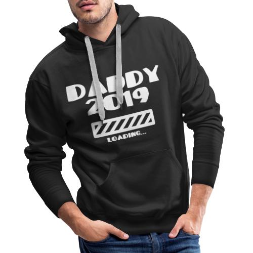 Schwanger Geschenk Shirt Vater 2019 - Männer Premium Hoodie