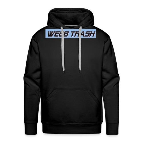 Weeb trash - Men's Premium Hoodie