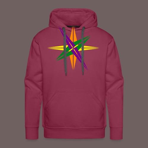 GBIGBO zjebeezjeboo - Love - Couleur d'étoile brillante - Sweat-shirt à capuche Premium pour hommes