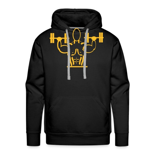 weights 1 - Men's Premium Hoodie