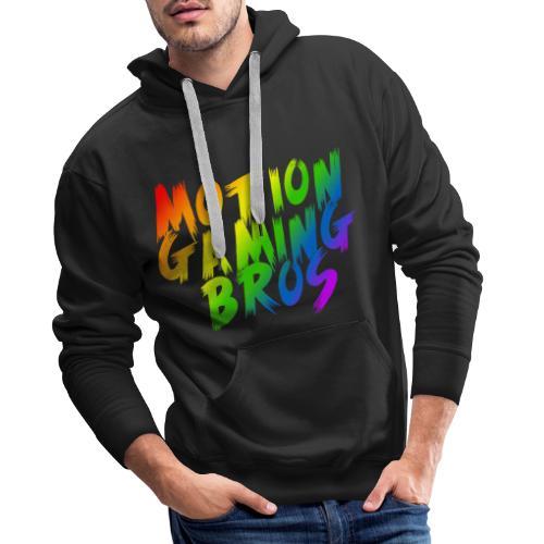Rainbow png - Männer Premium Hoodie