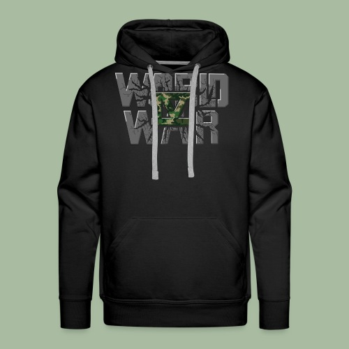 World War 4 - Sweat-shirt à capuche Premium pour hommes