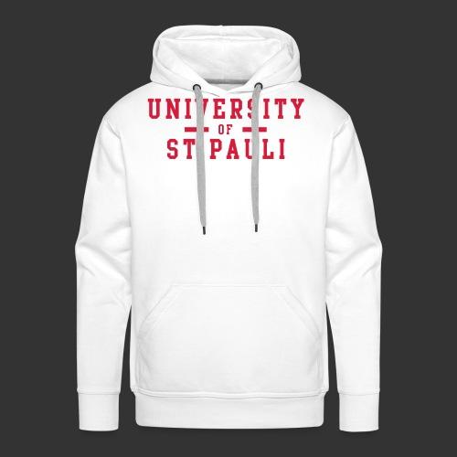 University - Männer Premium Hoodie