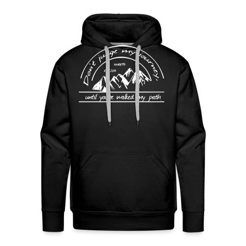 My journey, Neverbeaten - Männer Premium Hoodie