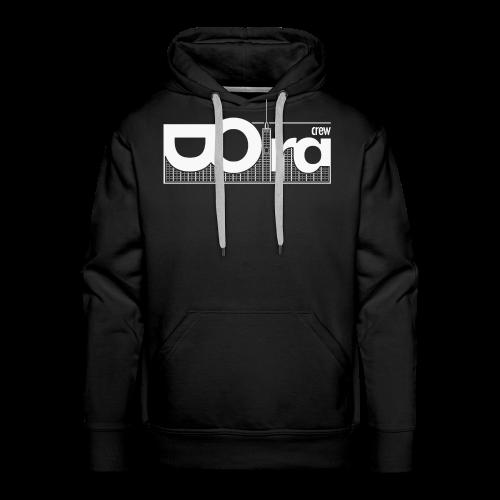 DORA Crew Logo —W - Felpa con cappuccio premium da uomo