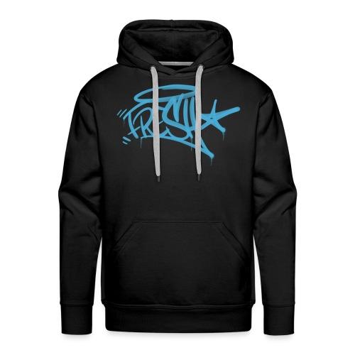 Fresh Graffiti Tag - Herre Premium hættetrøje