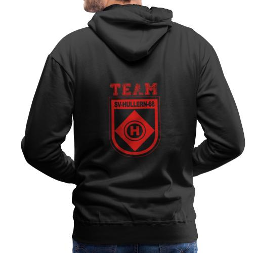 SVHullern68 Fanwear redblack - Männer Premium Hoodie