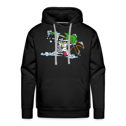 Wicked Washing Machine Wasmachine - Mannen Premium hoodie