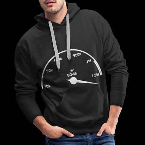 Compteur de Bovis - Sweat-shirt à capuche Premium pour hommes