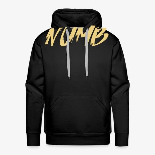 NUMB - Herre Premium hættetrøje