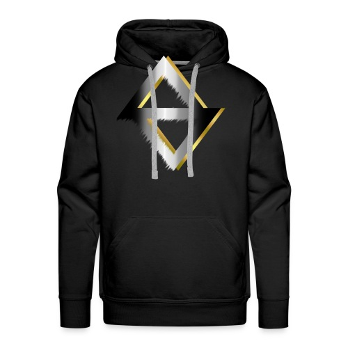 PKC-> Triangel in Silver and Gold - Men's Premium Hoodie