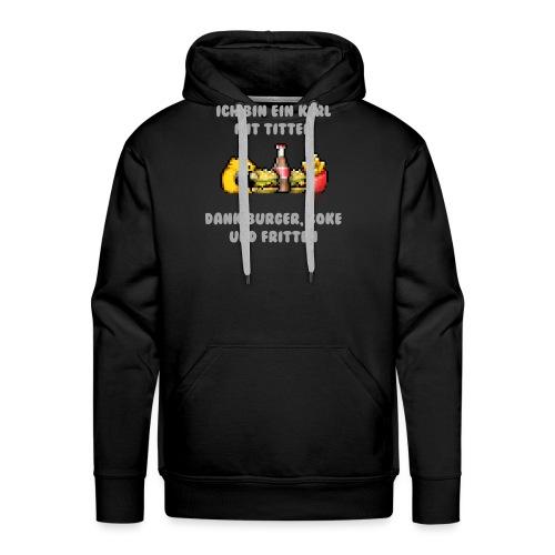Dicker Kerl - Männer Premium Hoodie