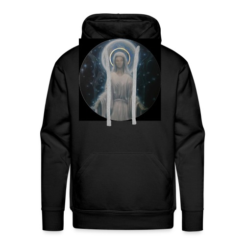 圣母玛利亚 Notre Dame by Jean Libon (Noir) - Sweat-shirt à capuche Premium pour hommes