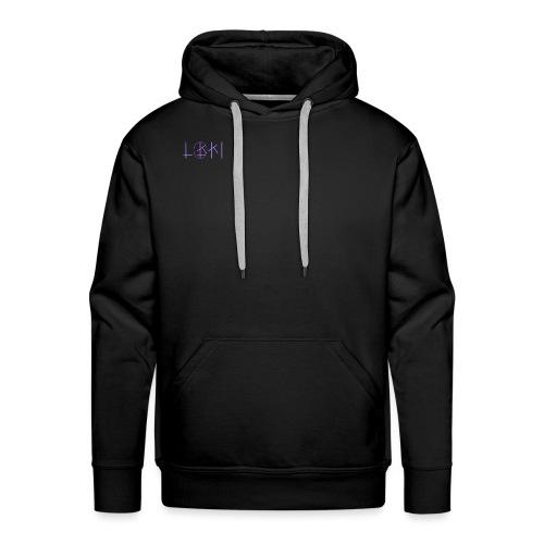 LoKi - Classic - Sweat-shirt à capuche Premium pour hommes
