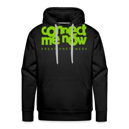 Connect me now - Männer Premium Hoodie