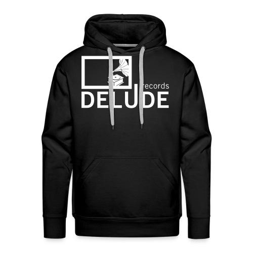 Delude Records Label Logo - Männer Premium Hoodie