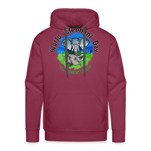 World Elephant Day 2018 - Männer Premium Hoodie