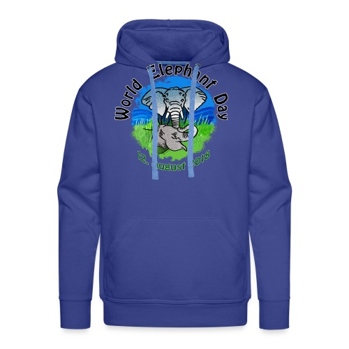 World Elephant Day 2018 - Männer Premium Hoodie