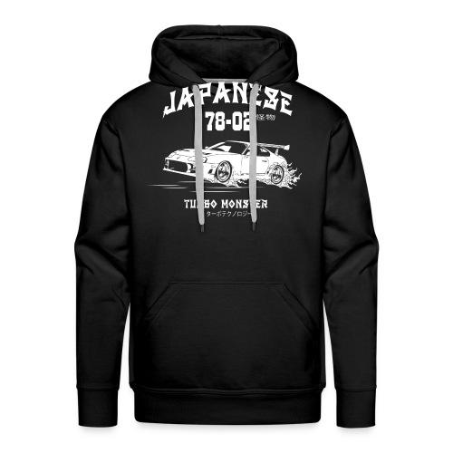 Turbo Monster - Japan Sport Wagen - Drift Babe - Männer Premium Hoodie
