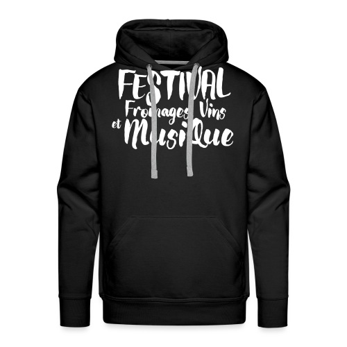 Festival FVM - Sweat-shirt à capuche Premium pour hommes